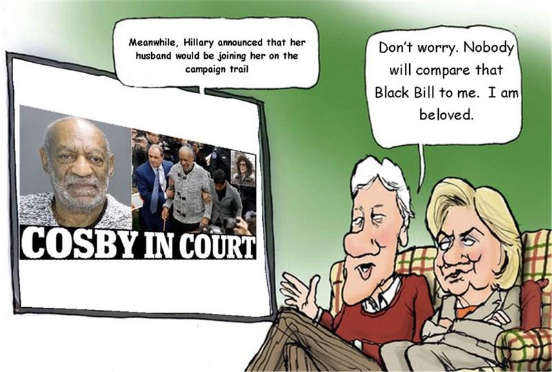 bill cosby Hillary Clinton politics - 8600224256