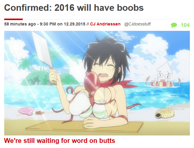 bewbees wtf anime
