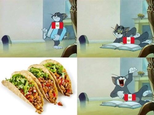 guerra de comida