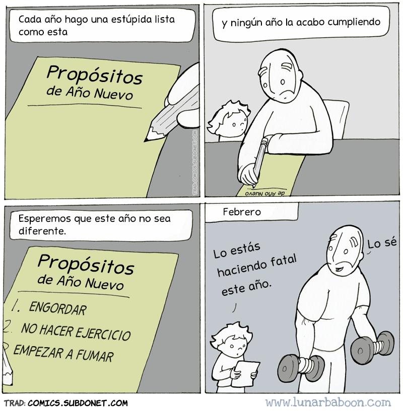 promesas de ano nuevo