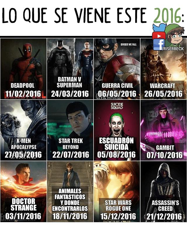 lo que se viene este 2016