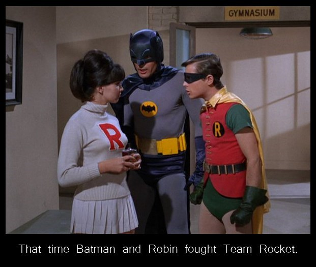 batman,Team Rocket