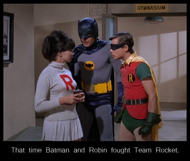 batman Team Rocket - 8601025280