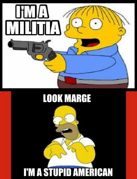 Militia - Stupid Americans