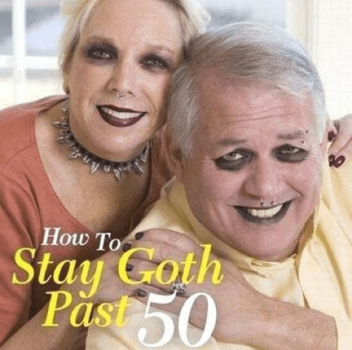 stay goth past 50