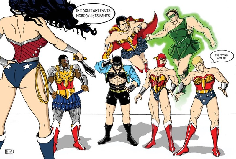 superheroes dc heroes wonder woman costumes fan art