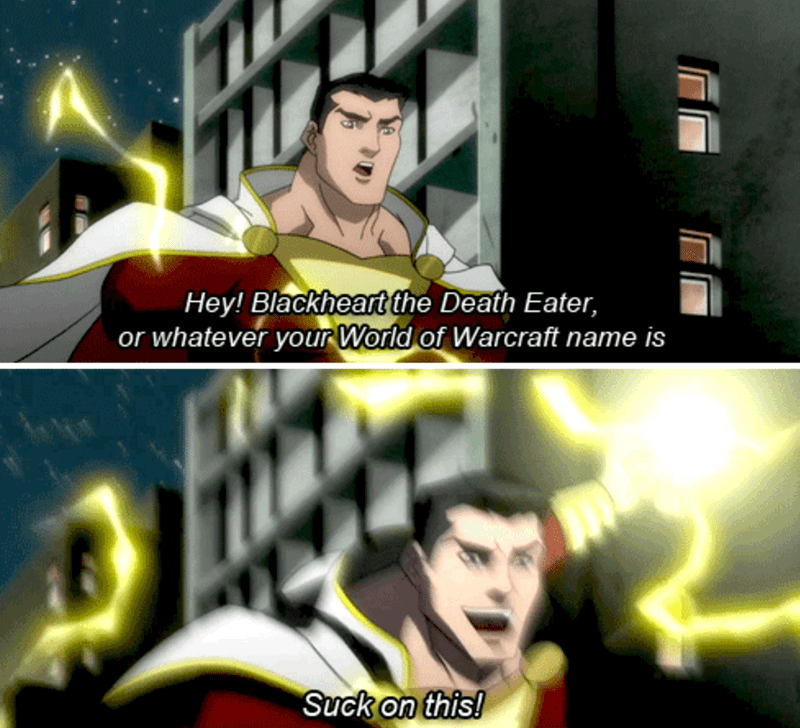 world of warcraft,shazam