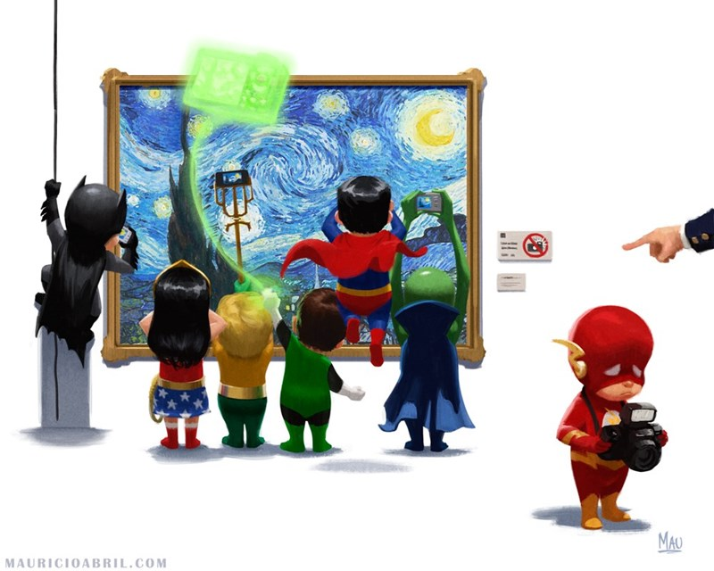 superheroes dc no flash fan art