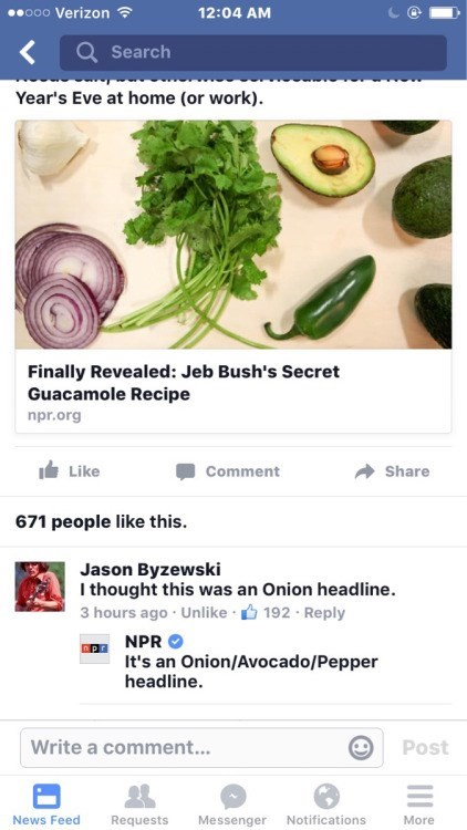 npr guacamole headline