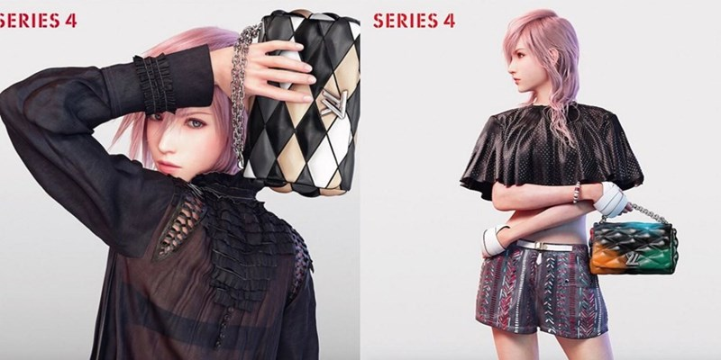 final fantasy lightning fashion model louis vuitton