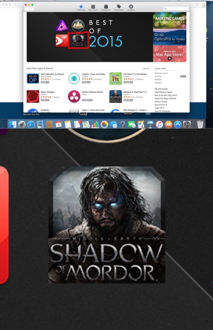 shadow of mordor,mac