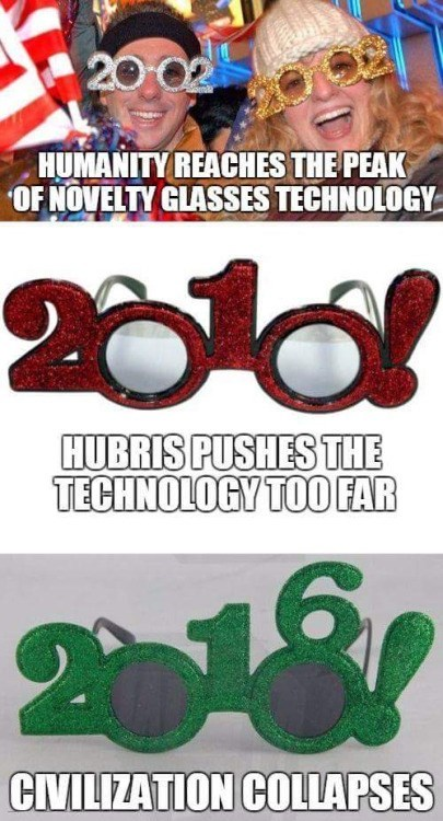 2016 glasses civilization collapses