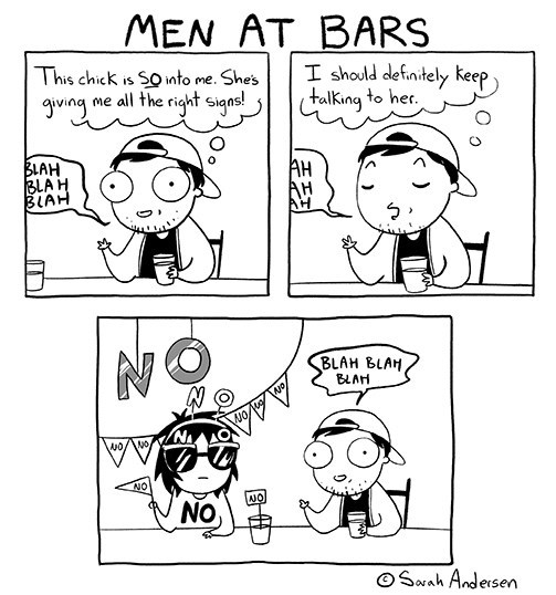 web comics men at bars