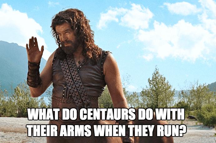 centaurs,running