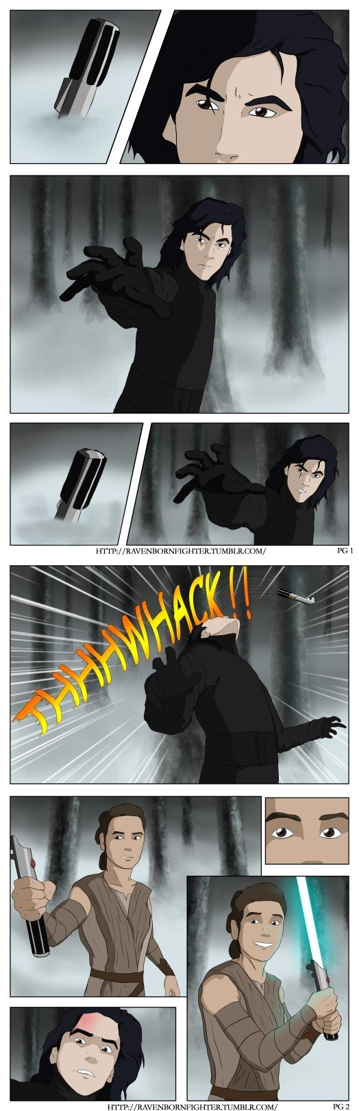 How It Should Have Happened: Kylo vs Rey