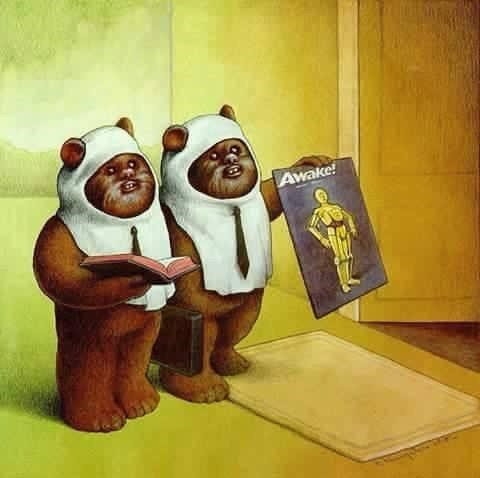 ewoks C3PO star wars - 8601608960