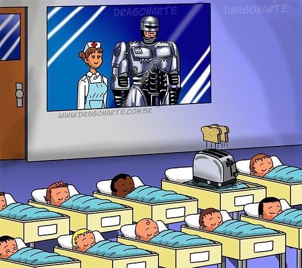 robocop baby web comic