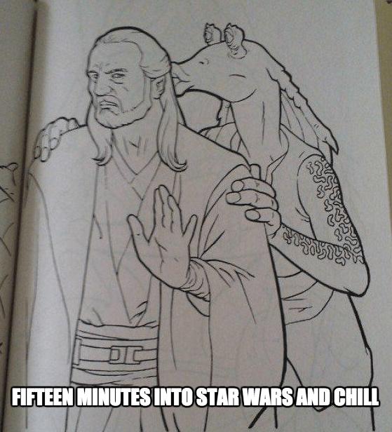 star wars netflix and chill jar jar binks dating - 8601987072