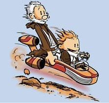 calvin and hobbes star wars