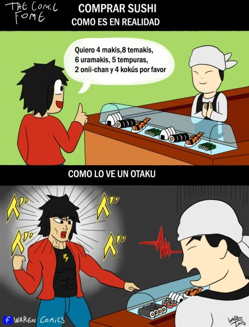 comprar sushi