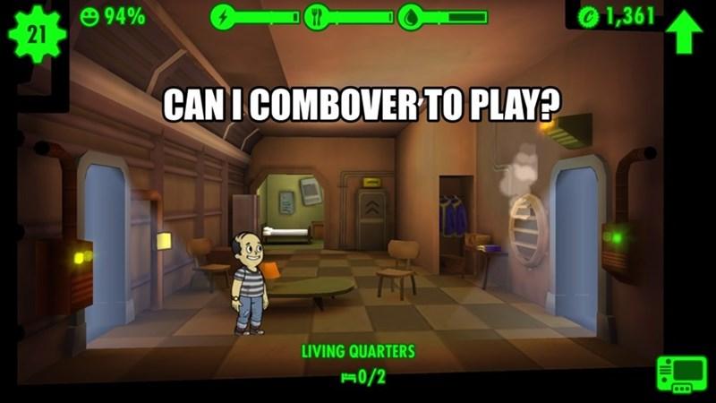 fallout shelter combover pun