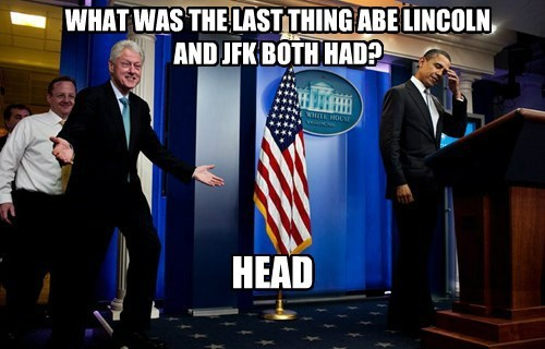 WHAT WAS THE LAST THING ABE LINCOLN AND JFK BOTH HAD? HEAD