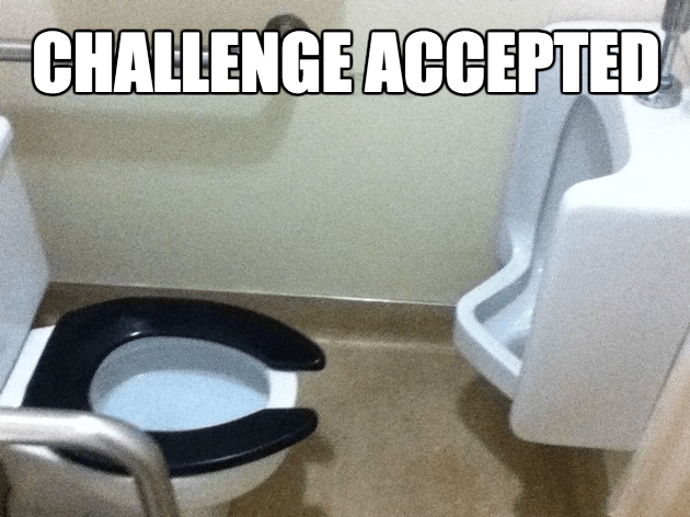 bathrooms peeing pooping