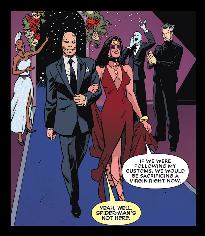 deadpool wedding