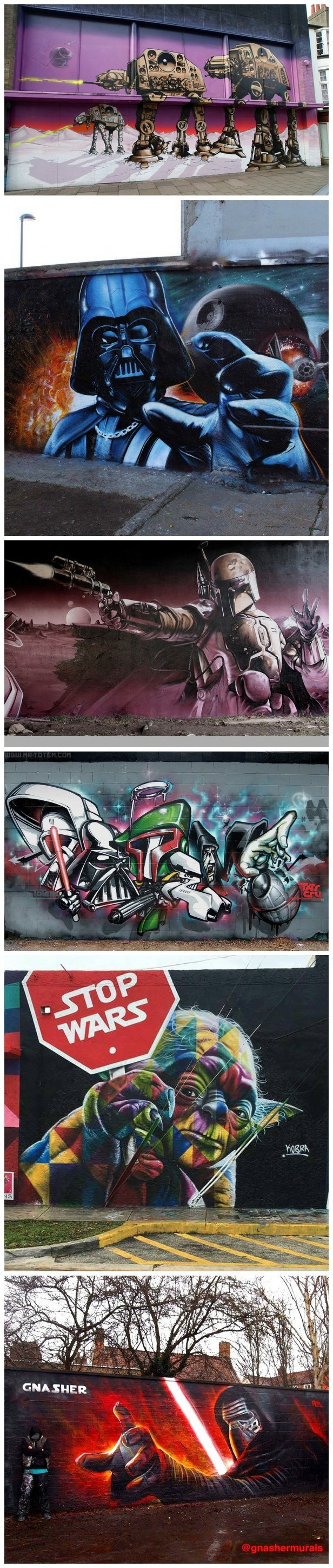 scifi star wars Fan Art graffiti - 8602688768