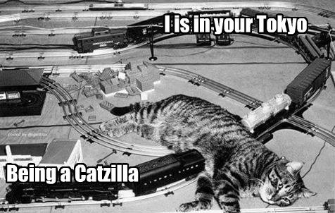 Move Over Sith Lords, Catzilla is coming