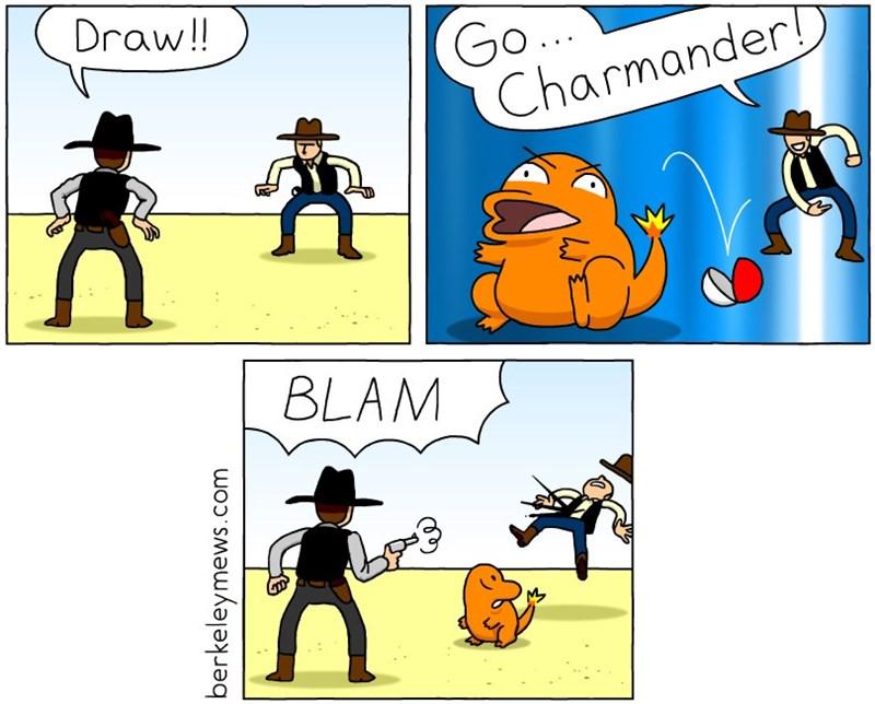 pokemon memes gun fight