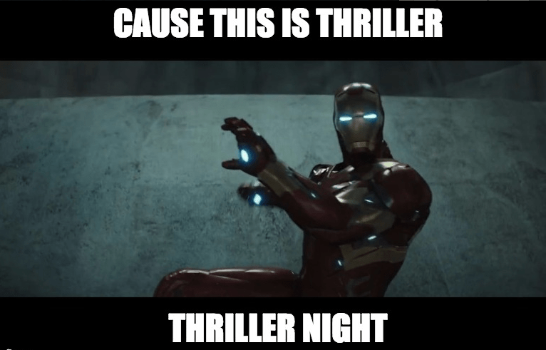 thriller iron man