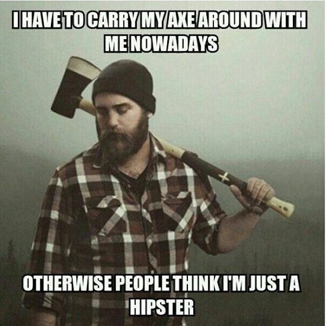 beard,hipster,axe