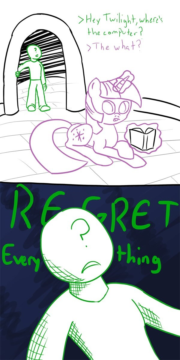 anonymous i have made a terrible mistake twilight sparkle - 8603068672