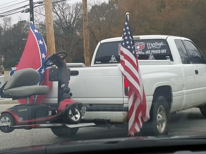 wtf murica motor scooter - 8603141376