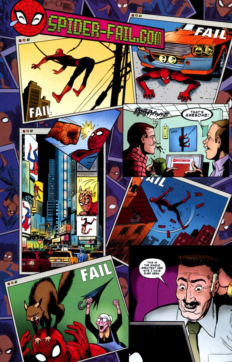 failblog Straight off the Page Spider-Man - 8603253248