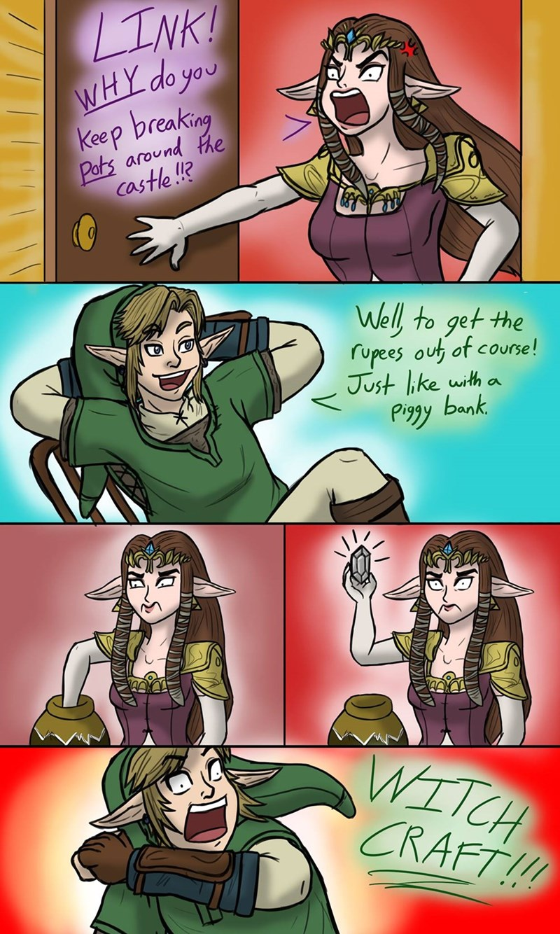 legend of zelda rupees web comics