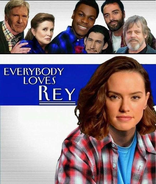 everybody loves rey star wars vii