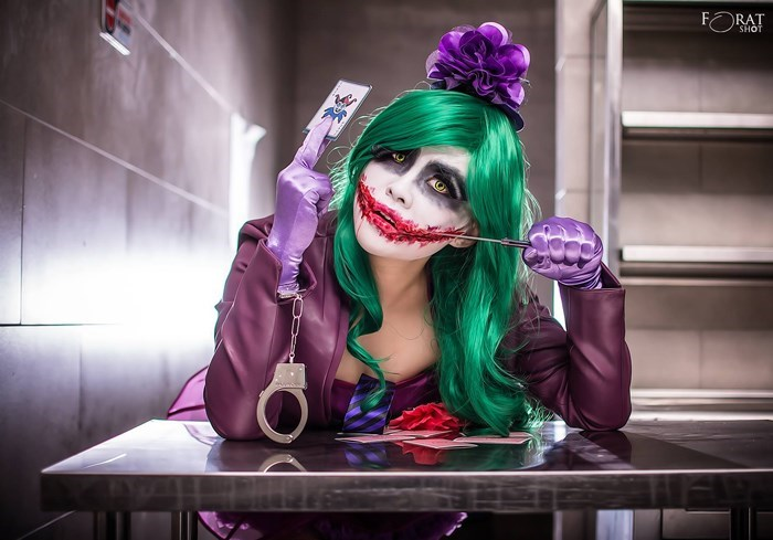 lady joker rule 63 cosplay
