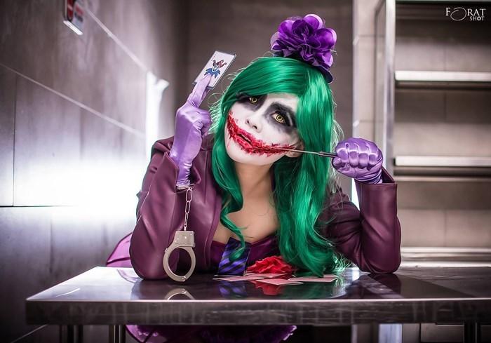 lady joker rule 63 cosplay