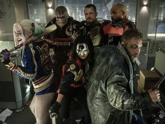 new suicide squad photo