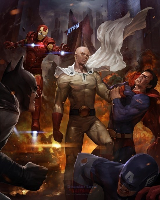 Saitama Would Crush Both Marvel and DC