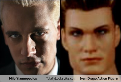 Milo Yiannopoulos Totally Looks Like Ivan Drago Action Figure