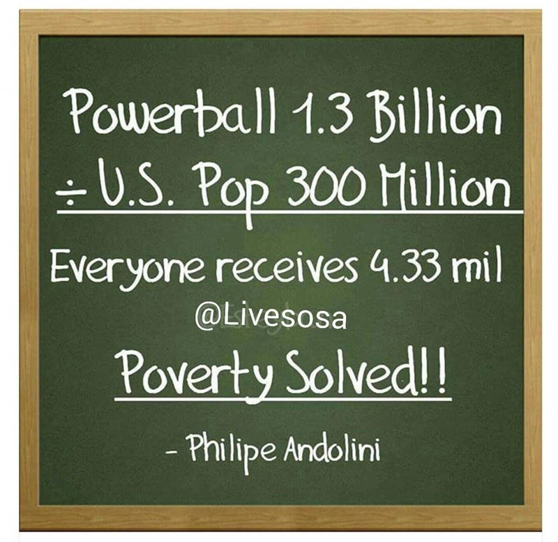 powerball poverty solved