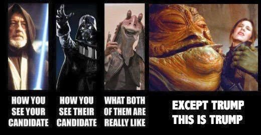 A Star Wars Guide to Politics, No Matter Your Party Affiliation