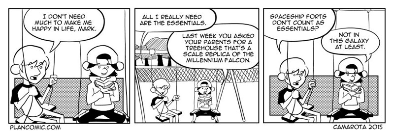 web comics tree house star wars Seems Like a Pretty Essential Thing