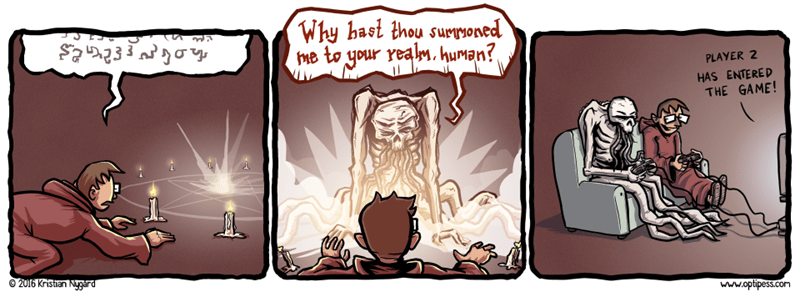 web comics video games cthulu When No One Else Will Play With You