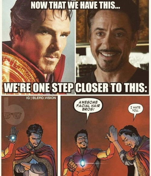 superheroes iron man dr strange Soon...