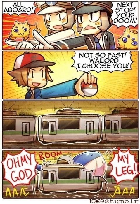 wailord subway battle
