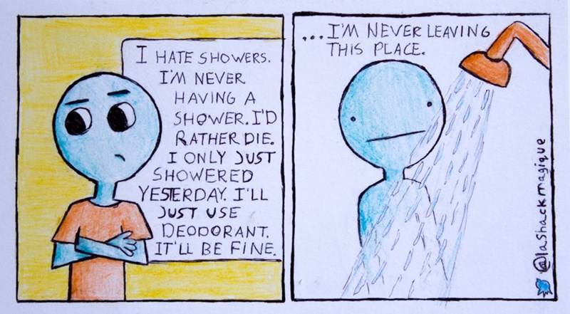 web comics showers It's All About Keeping a Constant Temperature